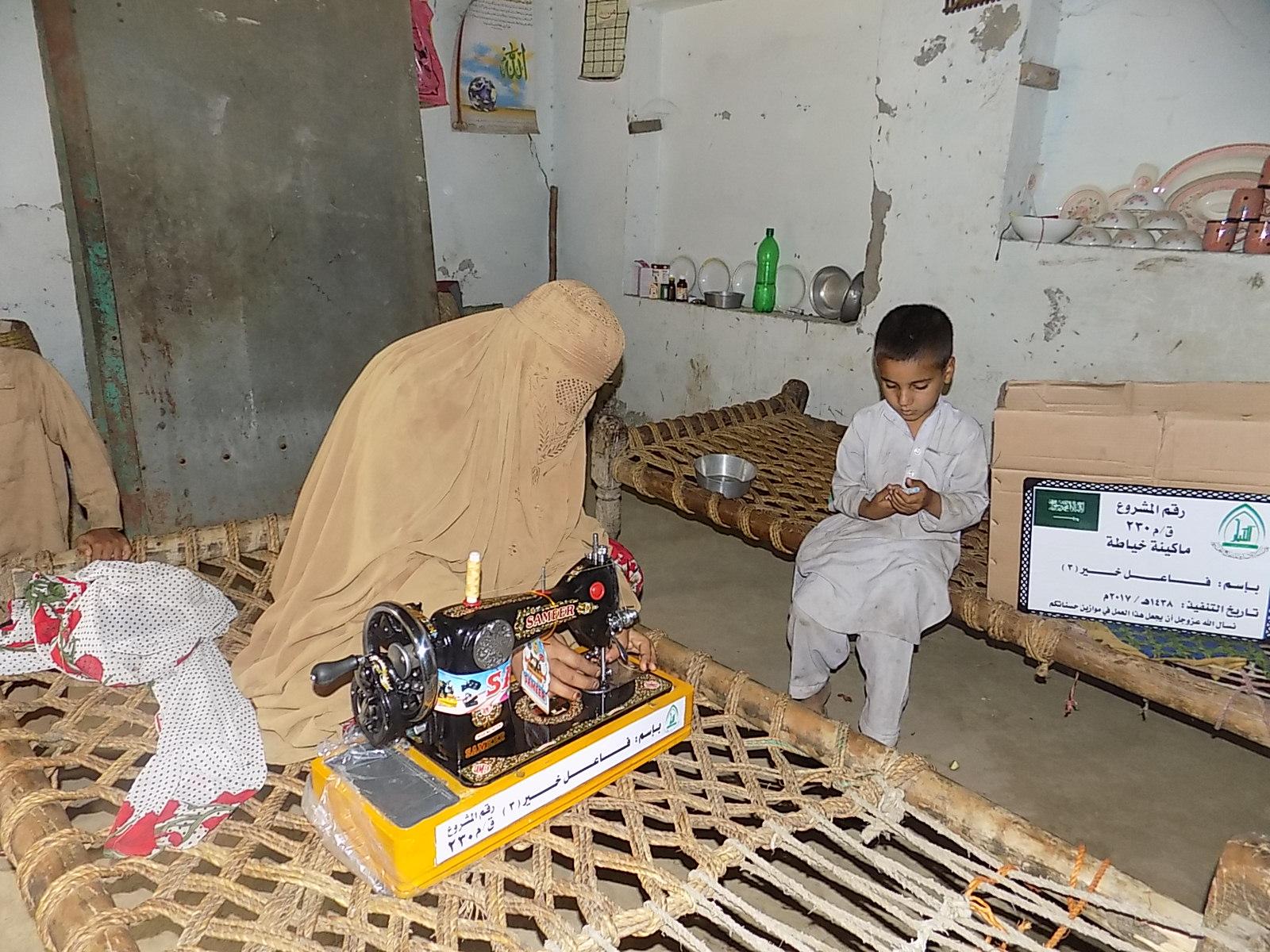 Photo of مشروع ماكينة خياطة بإسم / فاعل خير (3) (ق/م 230)