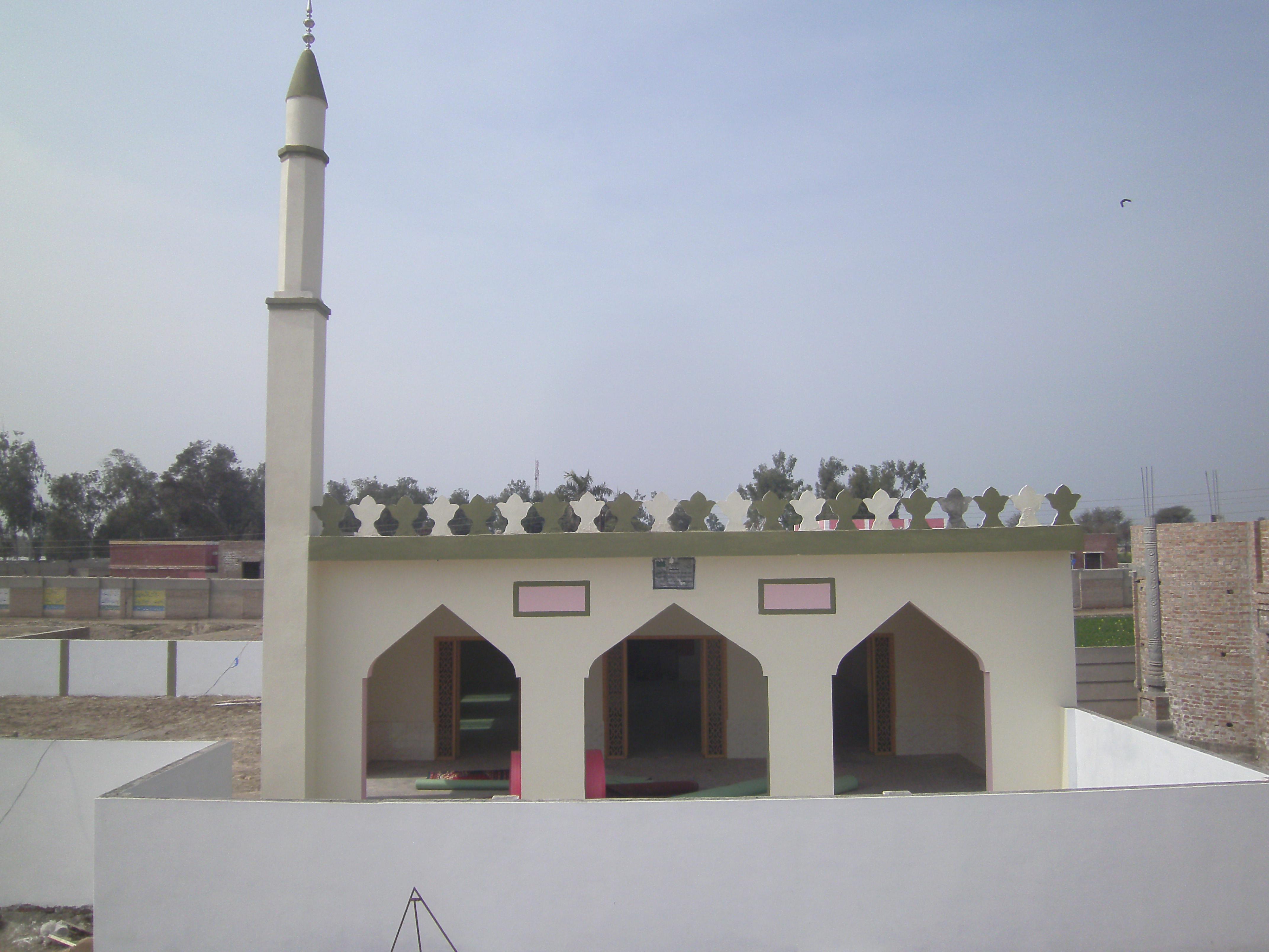 صورة مسجد المغفور لها بإذن الله مستوره بنت عايش الثبيتي (ق/م 267)